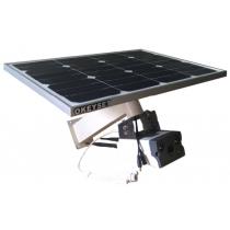 太阳能摄像机